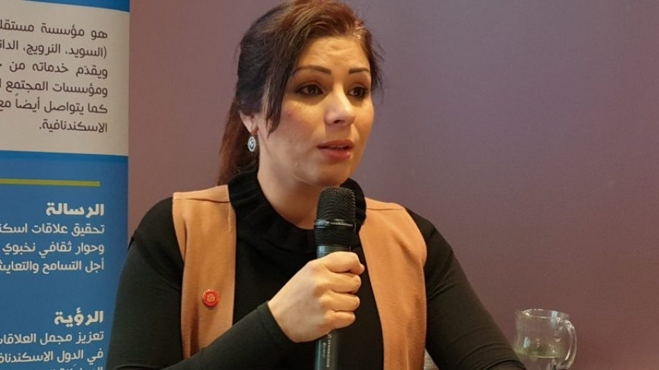 Amani Loubani is a candidate for the EU- elections